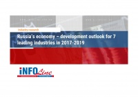 """Russia's economy – development outlook for 7 leading industries in 2017-2019"""