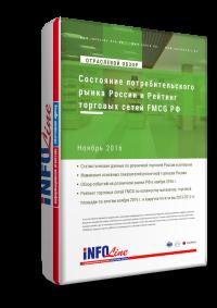 Состояние потребительского рынка РФ и Рейтинг торговых сетей FMCG РФ: Ноябрь 2016 года
