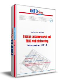 Russian consumer market and FMCG retail chains rating: November 2015.