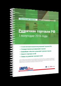 Розничная торговля РФ I полугодие 2016