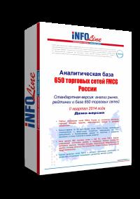 650 торговых сетей FMCG РФ. Стандартная версия. (доступна обновленная версия исследования)